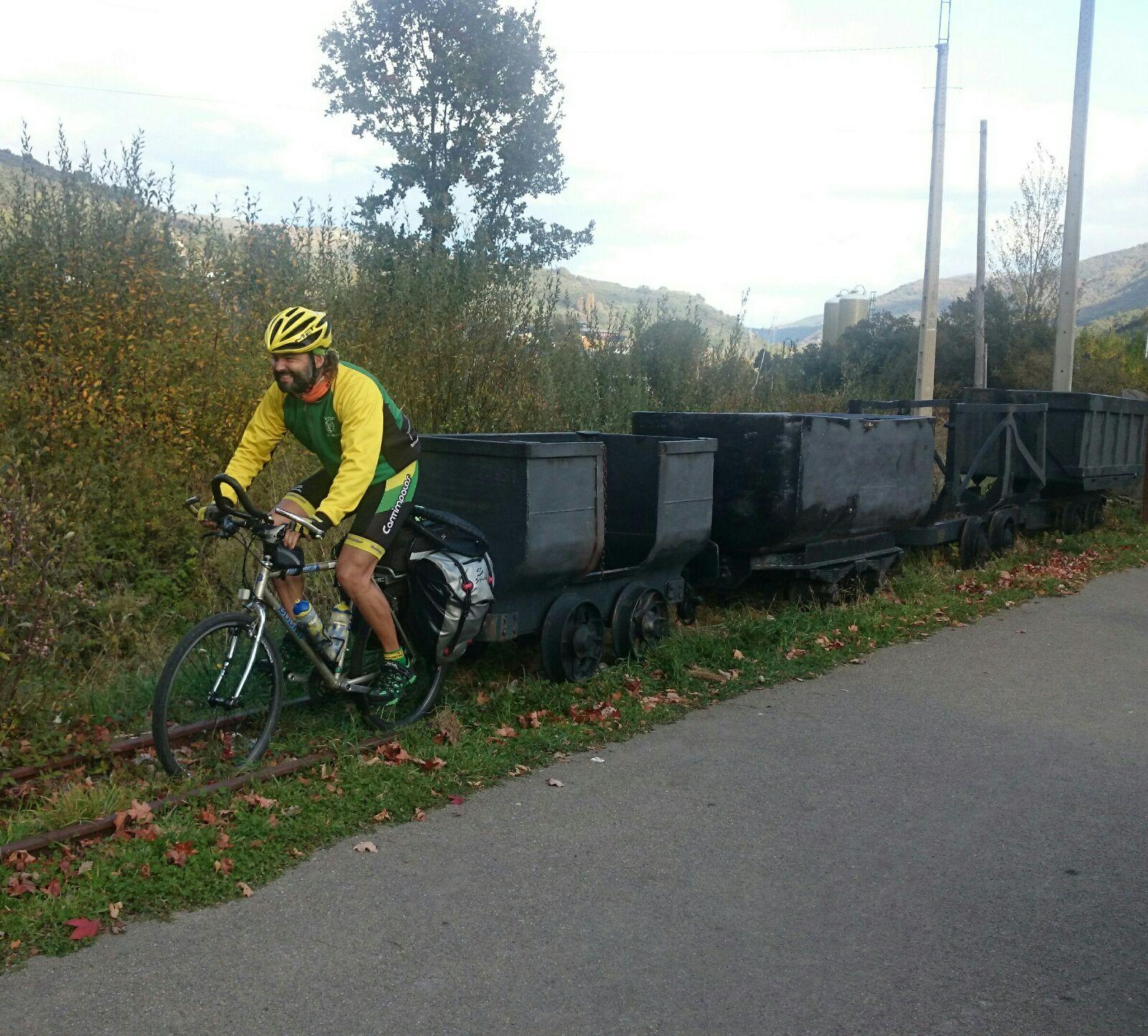 La locomotora de Villablino