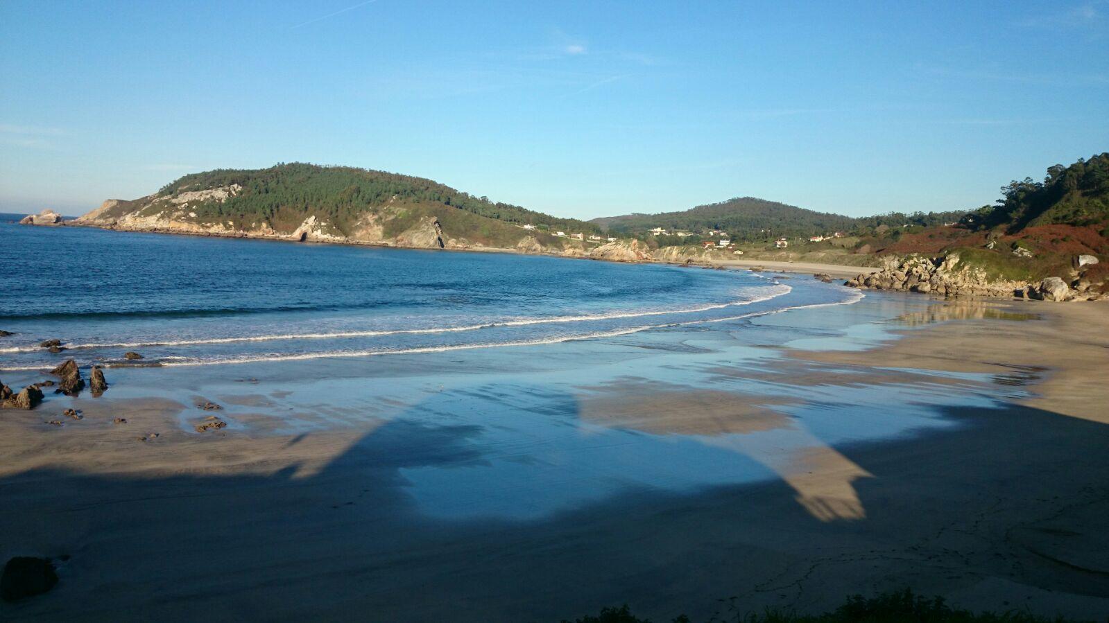 Playa llegando aOrtigueira