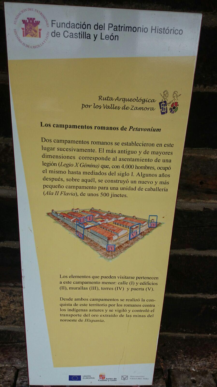 Campamentos Ejercito Romano,Rosinos de Vidriales